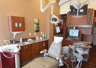 Wooden dental operatory