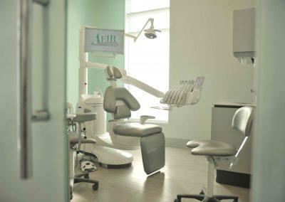 Aeir Dental Clinic customized interior design with modern focus showcases the dental team's dream clinic