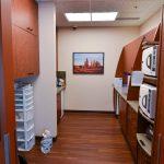 Back hallway of dental office