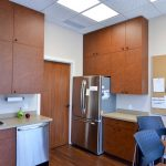 Staff room and lunchroom at dental clinic office