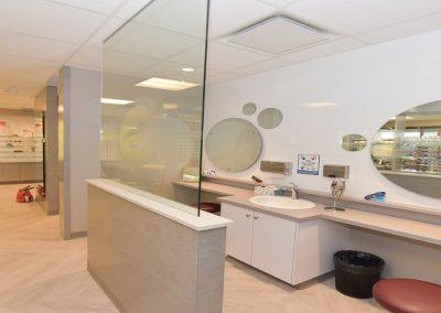 Contact station at Calgary eye clinic