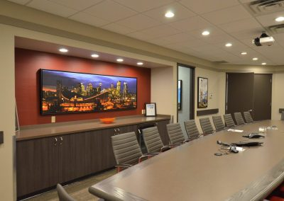 Large meeting boardroom table