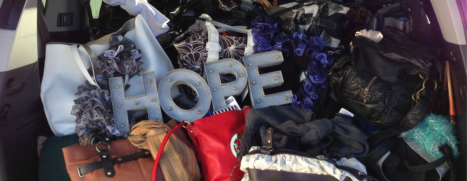 Purses of Hope donations