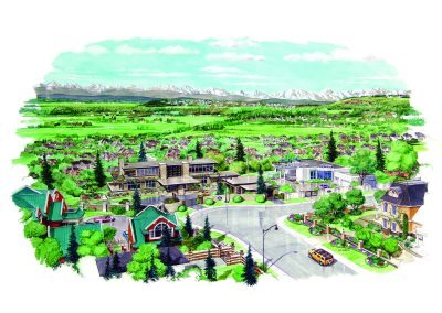 Aspen Estates community planning sketch