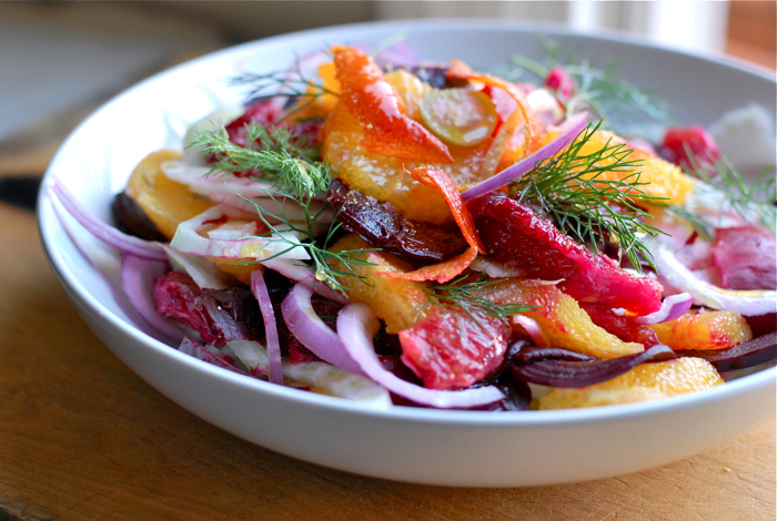 Beets, Fennel and Orange Salad