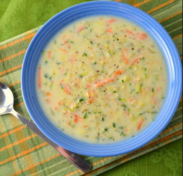 Zucchini Carrot Soup
