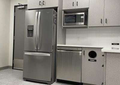 staff kitchen area
